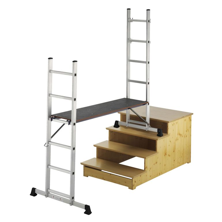 MAXCRAFT Mobile Aluminium Work Platform / Multifunction Scaffold – Bild 1