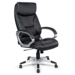 MY SIT Office Chair Bora Bora Faux Leather in Black