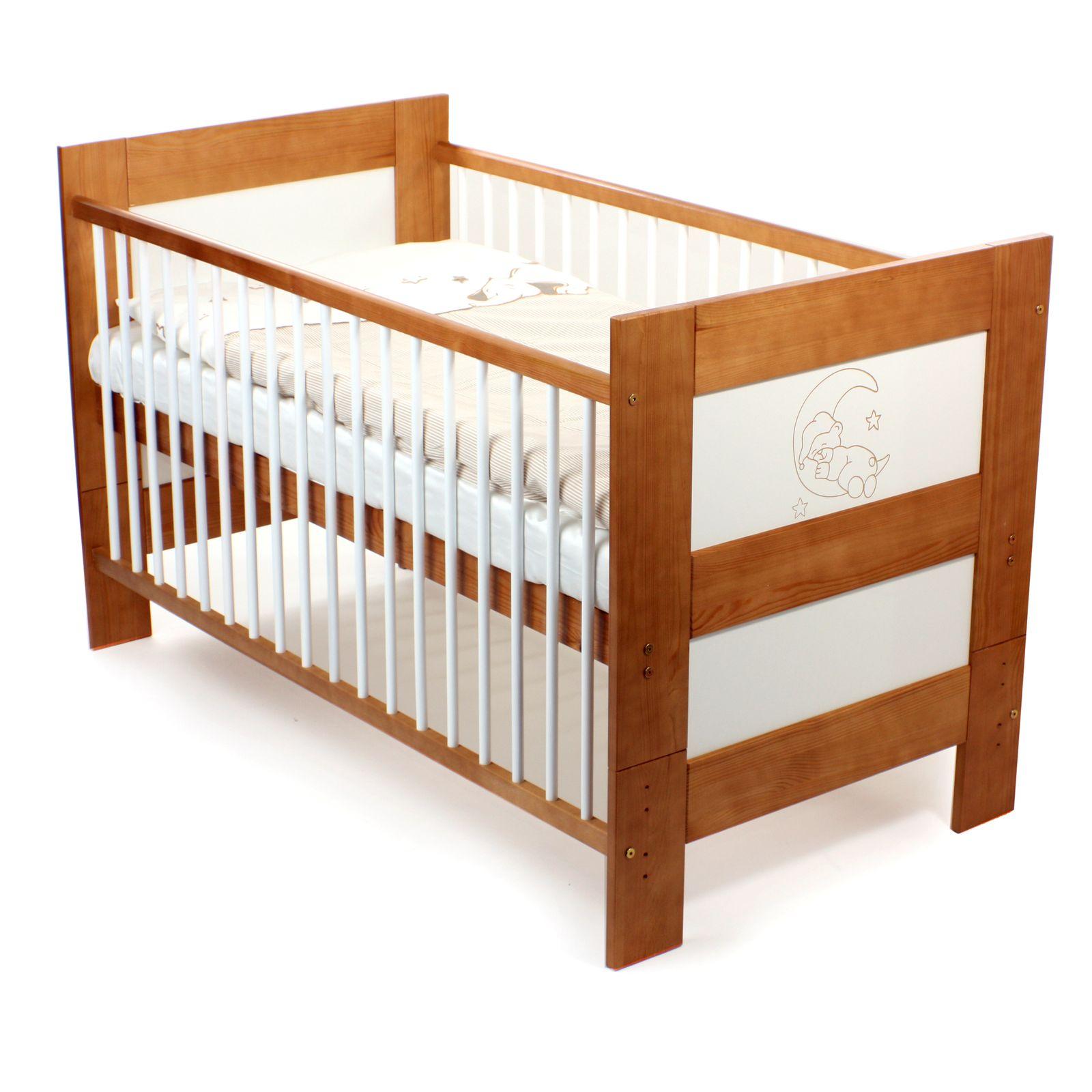 Kinderbett Holz Klappbar: Baby Vivo Kinderbett Juniorbett Babybett Juniorbett 140 X