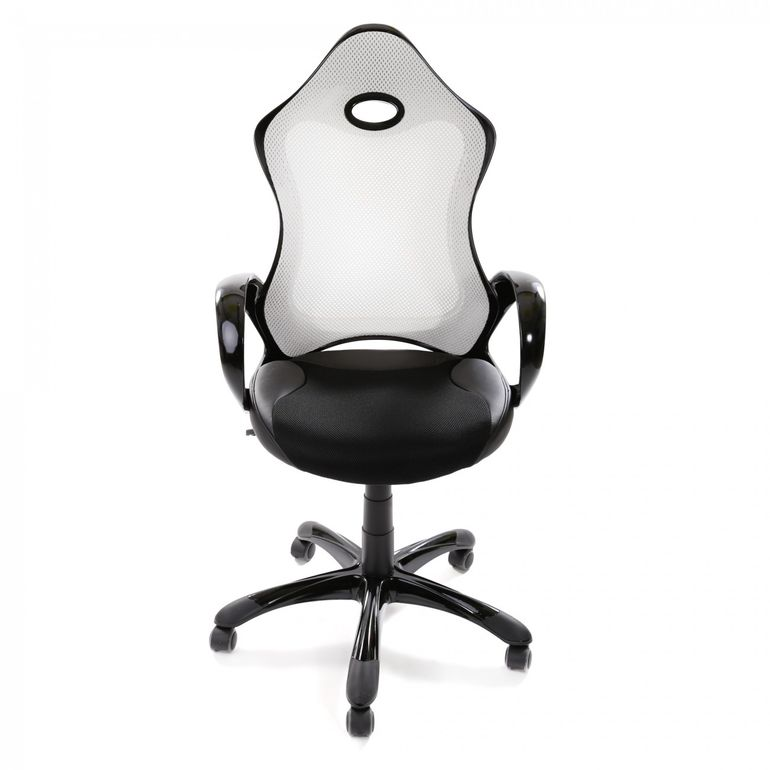 MY SIT Racing Chair Bürostuhl aus Kunstleder Luxury Line Silverstone – Bild 2