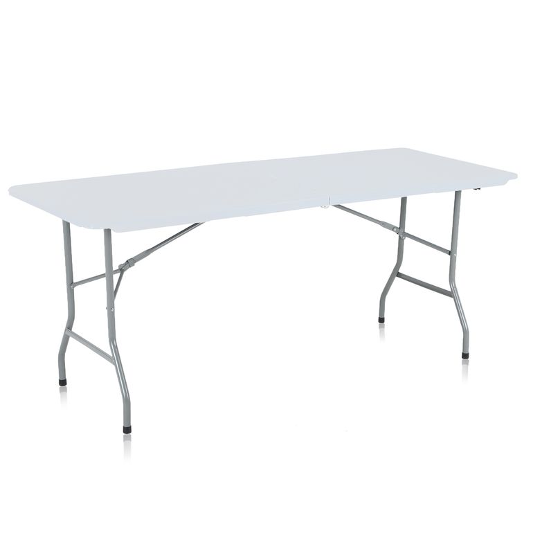 Strattore Garden / Camping Table Foldable 180 x 70 x 74 cm - Plastic in White Model 2018 – Bild 1