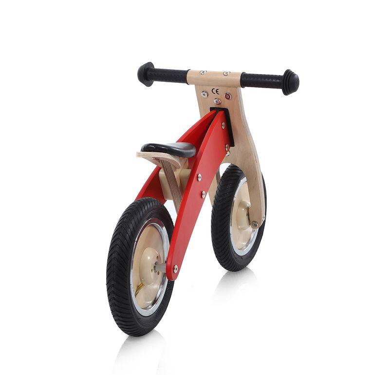 Baby Vivo 10 Zoll Kinderlaufrad / Laufrad aus Holz - Chopper in Rot – Bild 4