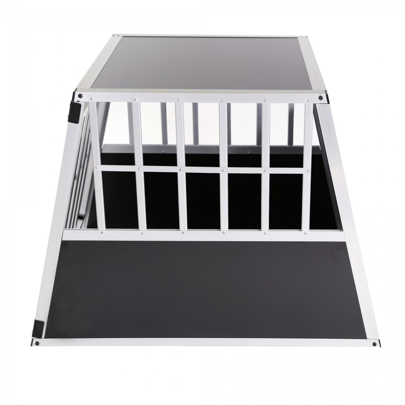 aluminium hundetransportbox transportbox alubox reisebox. Black Bedroom Furniture Sets. Home Design Ideas