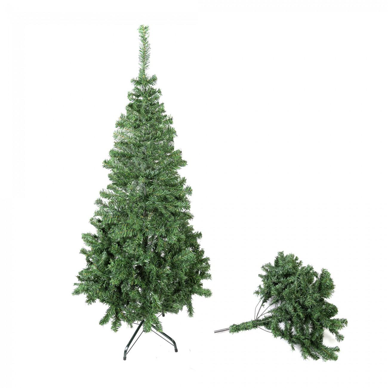 arbre de noel artificiel sapin sapin de noel plastique arbre 210 cm ma trading ebay. Black Bedroom Furniture Sets. Home Design Ideas