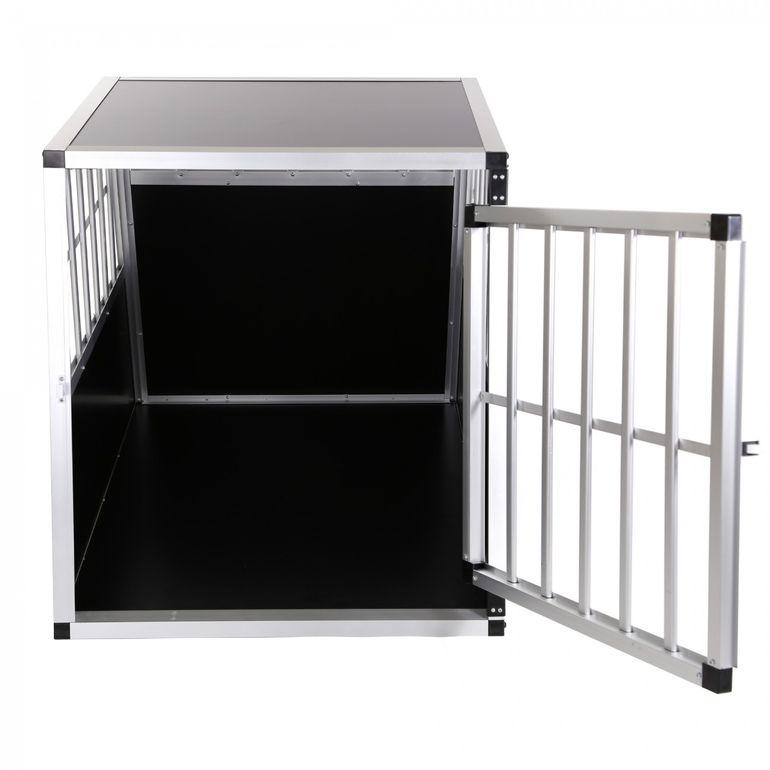 zoomundo Hundetransportbox / Kofferraumbox aus Aluminium - 1-Türig Premium - B-Ware – Bild 4