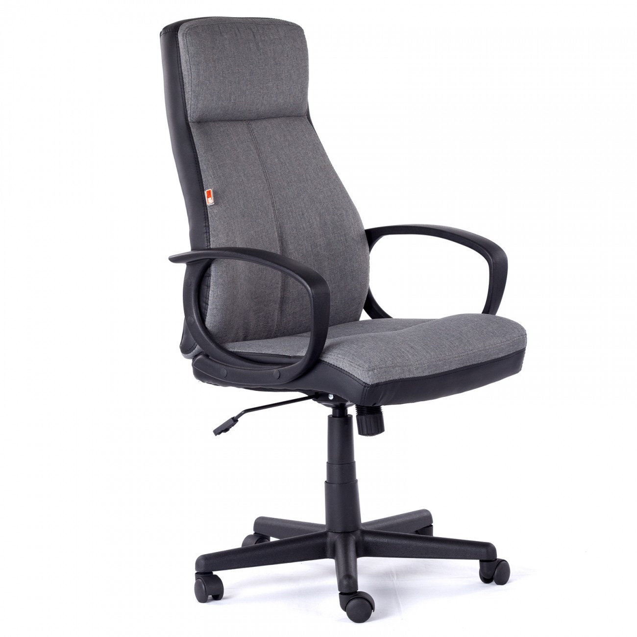 My Sit Office Chair Madagaskar Faux Leather In Grey