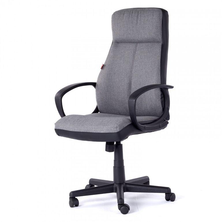 MY SIT Office Chair Madagaskar Faux Leather in Grey – Bild 3