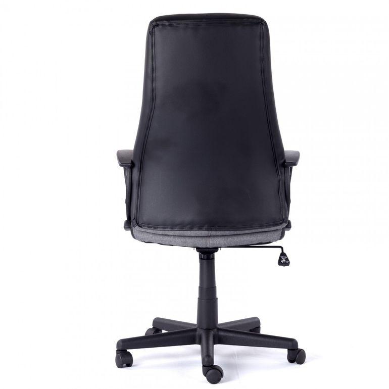 MY SIT Bürostuhl Chefsessel Madagaskar aus Kunstleder in Grau – Bild 6