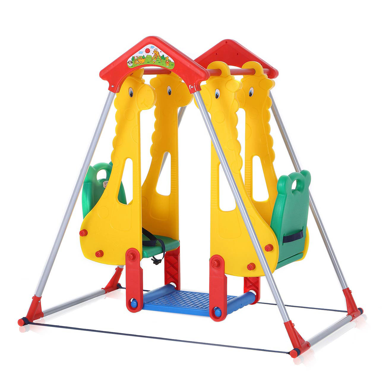 Baby Vivo Kids Swing Playground With Double Swing For