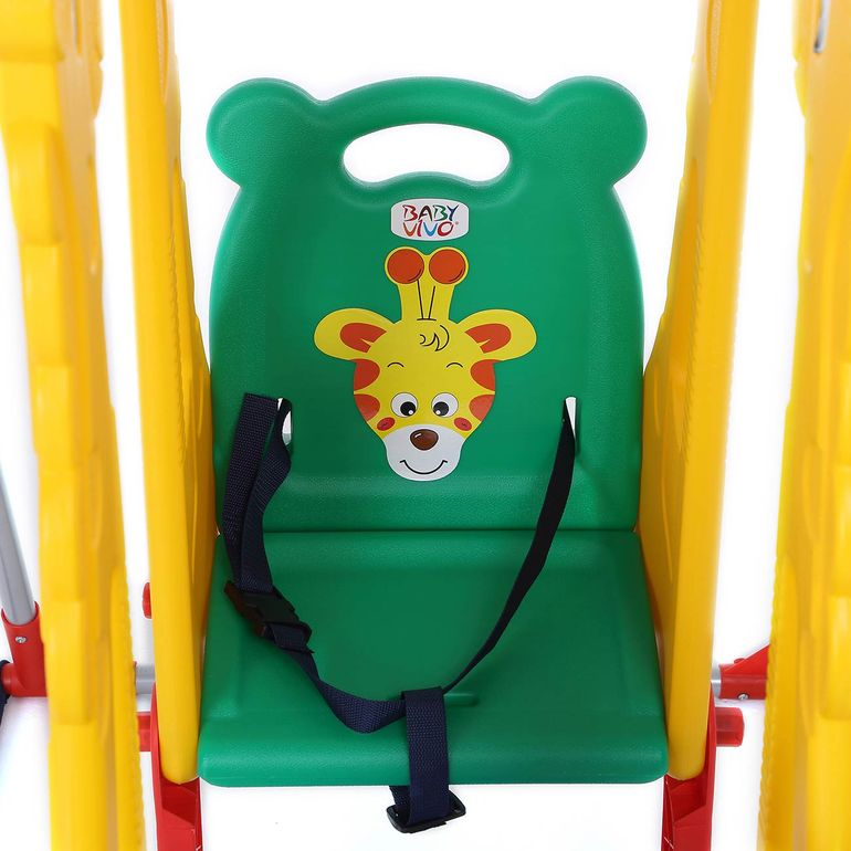Baby Vivo Kids Swing Playground with Double Swing for Indoor and Outdoor - Zoo – Bild 5