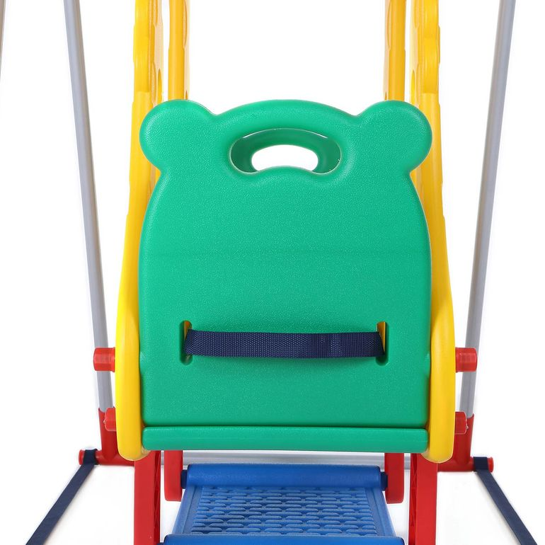 Baby Vivo Kids Swing Playground with Double Swing for Indoor and Outdoor - Zoo – Bild 6
