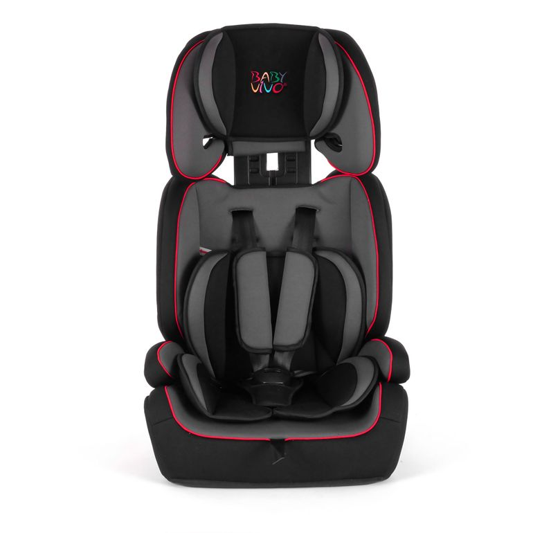 Baby Vivo Car Seat for Children TOM from 9-36 kg - Group 1+2+3 in Grey/Black – Bild 2