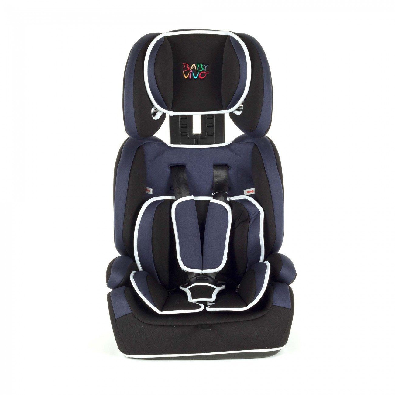 kindersitz 9 36 kg autokindersitz autositz gruppe 1 2 3 blau schwarz baby vivo ebay. Black Bedroom Furniture Sets. Home Design Ideas