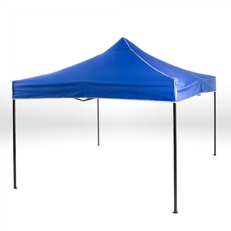 Strattore Foldable Gazebo with Canopy / Garden Tent - 3,0 x 3,0 x 3,05 m in Blue – Bild 2