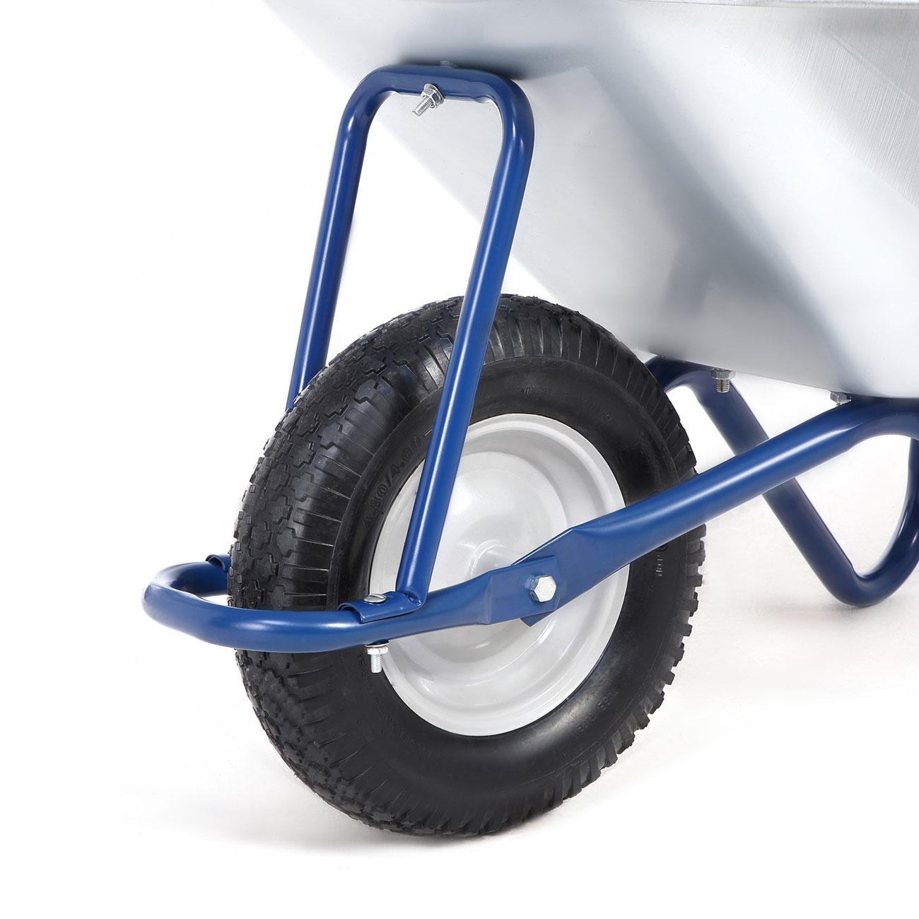 maxcraft brouette pneus avec chambre air 200 kg 100 l. Black Bedroom Furniture Sets. Home Design Ideas