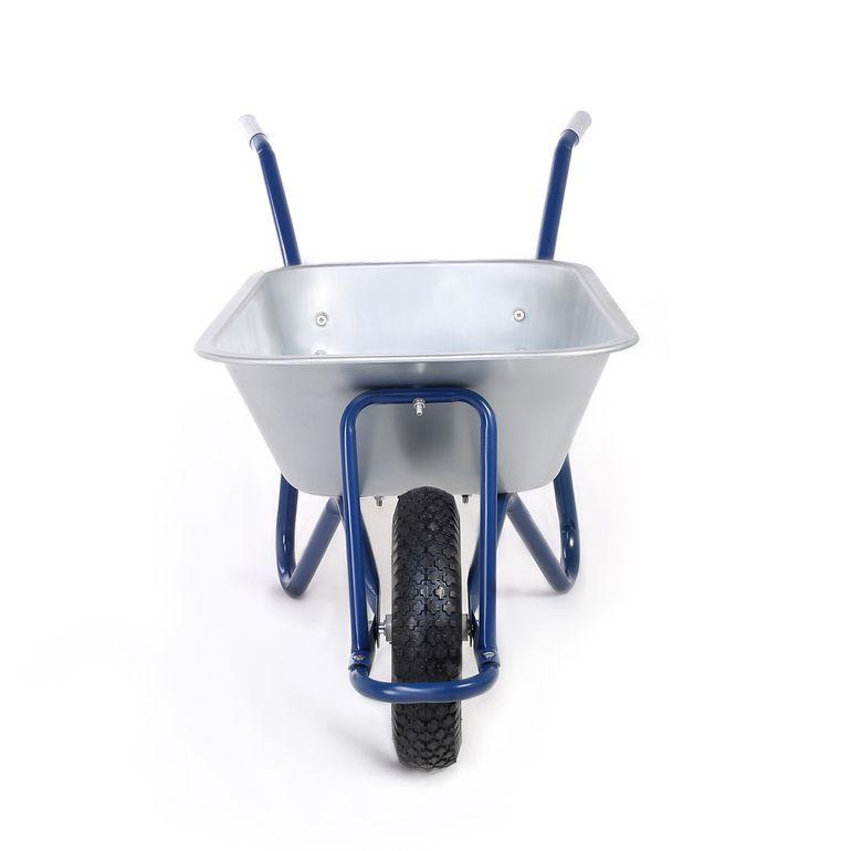 MAXCRAFT Brouette Pneus Avec Chambre à Air 200 kg 100 L - Bleu – Bild 6