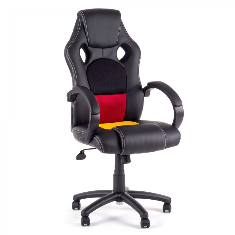 MY SIT Racing Chair Bürostuhl aus Kunstleder - Germany Fan Edition – Bild 5