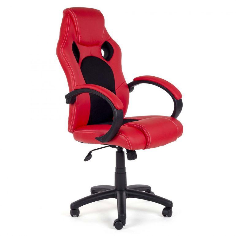 MY SIT Chaise de Bureau Fauteuil Siége Racing - Rouge/Noir V8 – Bild 6