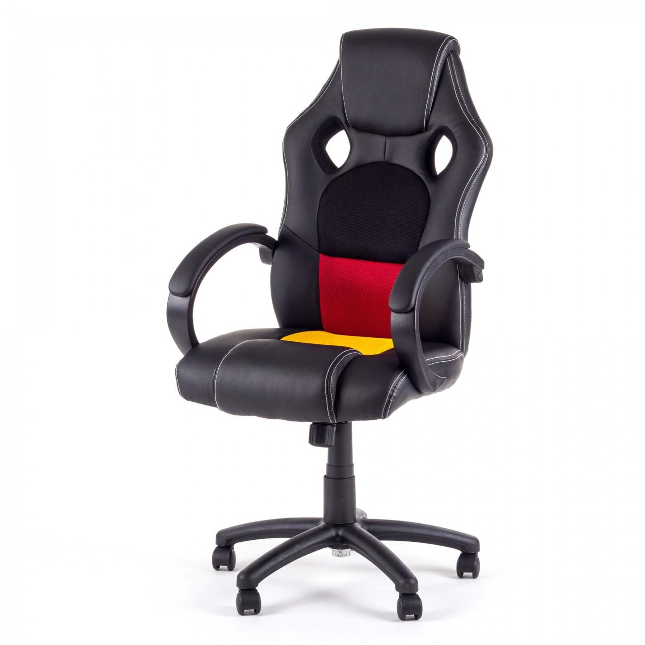 chaise bureau fauteuil si ge racing gamer sportiv ordinateur accoudoir v8 my sit ebay. Black Bedroom Furniture Sets. Home Design Ideas