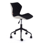 MY SIT Bürostuhl Design-Hocker Drehstuhl Stuhl INO Schwarz/Weiss 001