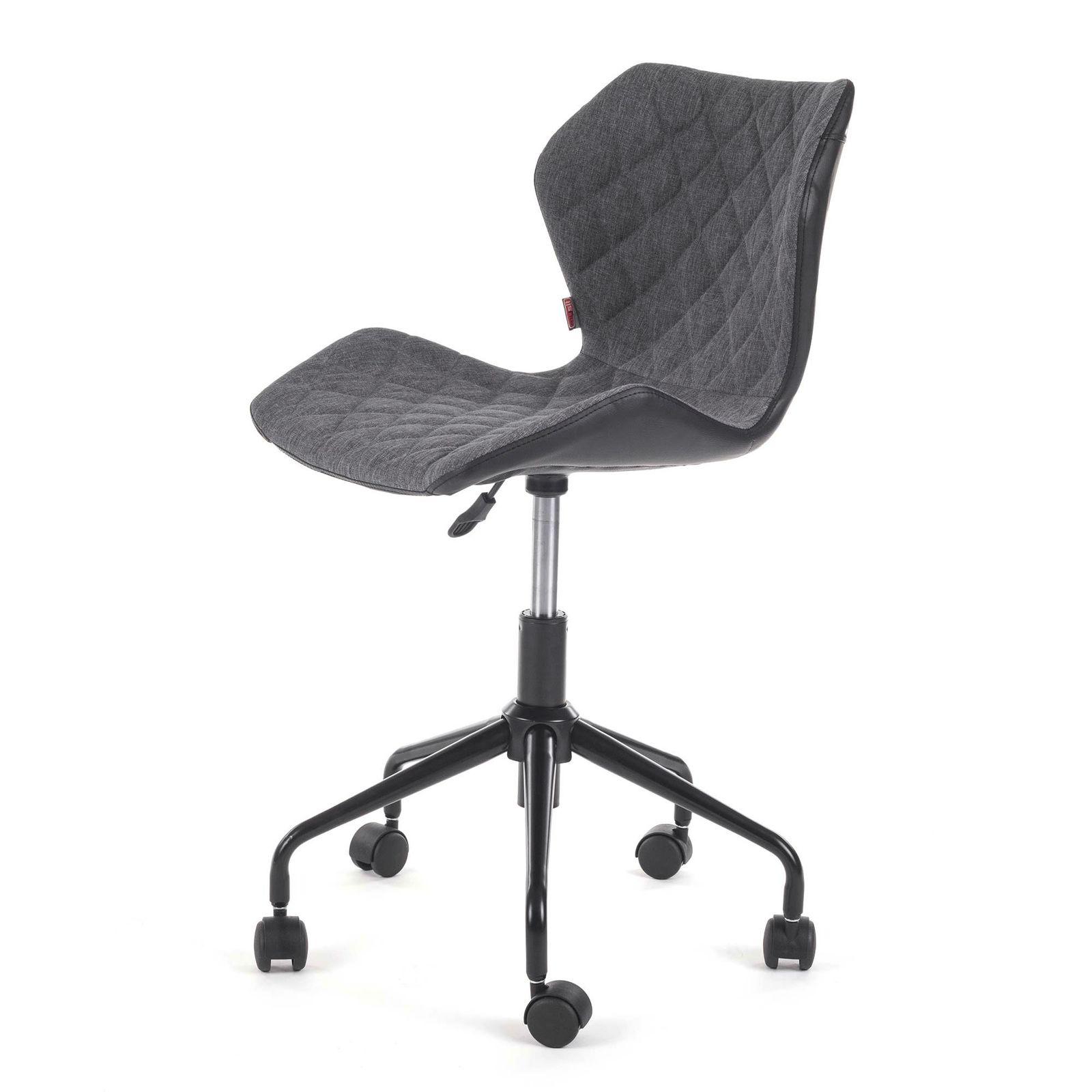 my sit chaise de bureau siege de bureau tabouret ino noir gris bureau chaises de bureau. Black Bedroom Furniture Sets. Home Design Ideas