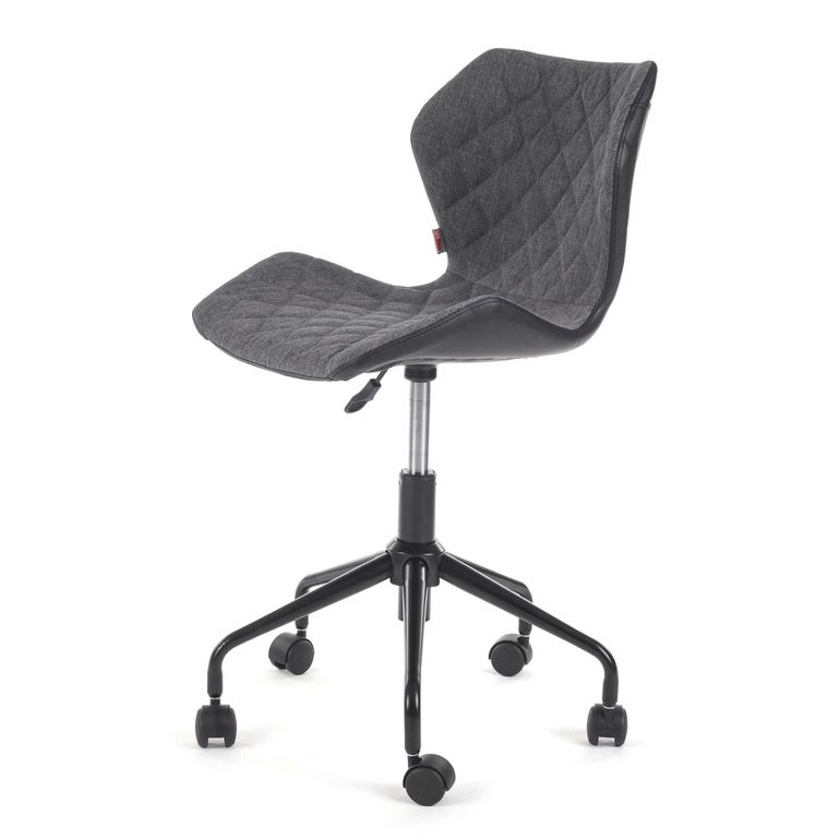 MY SIT Office Chair adjustable Stool INO Black/Grey – Bild 3