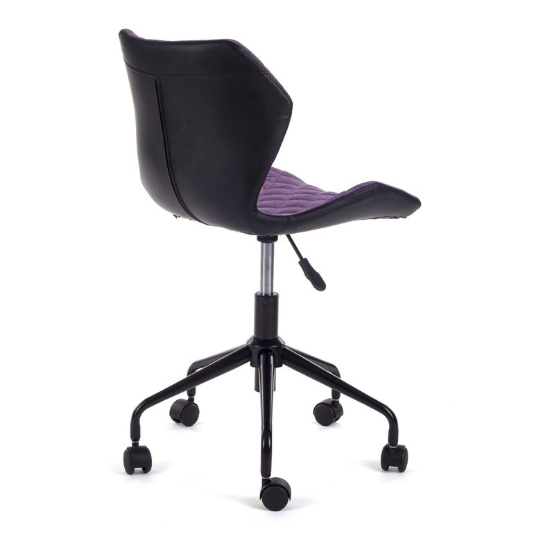 MY SIT Office Chair adjustable Stool INO Black/Violet – Bild 5