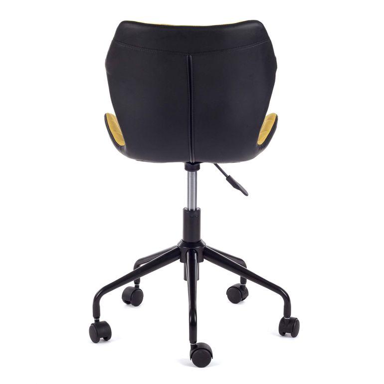 MY SIT Bürostuhl Design-Hocker Drehstuhl Stuhl INO Gelb/Schwarz – Bild 4