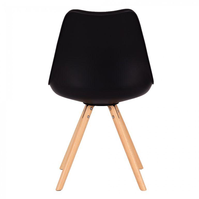 MY SIT Retro Stuhl Design-Stuhl - MOOL 4er Set in Schwarz - B-Ware – Bild 7