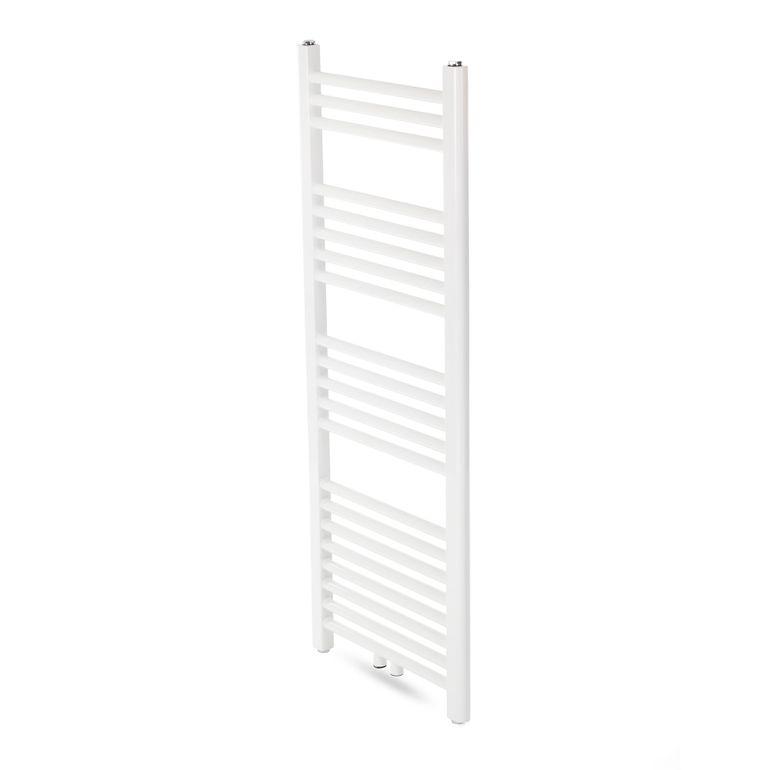 GAJO Porte-Serviettes Droit 1500 x 500 mm Radiateur de bains Acier Inoxydable en Blanc – Bild 3