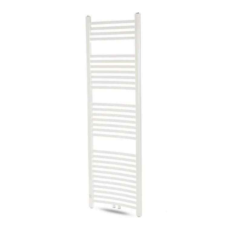 GAJO Porte-Serviettes Courbe 1500 x 500 mm Radiateur de Bains Acier Inoxydable en Blanc – Bild 4