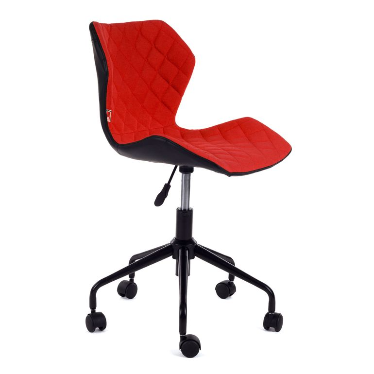 MY SIT Office Chair adjustable Stool INO Red/Black – Bild 1