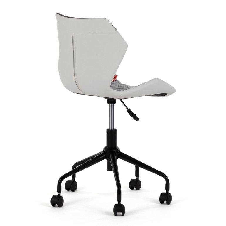 MY SIT Bürostuhl Design-Hocker Drehstuhl Stuhl INO Grau/Weiss – Bild 5