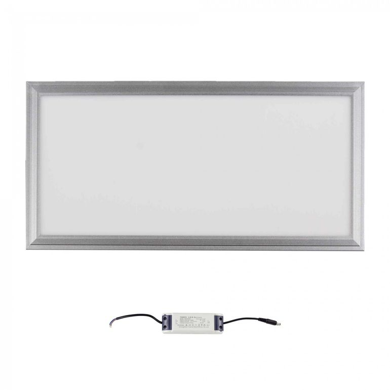 MAXCRAFT LED Panel Light Slim 24W 300 x 600 x 15 mm - Cool white – Bild 2