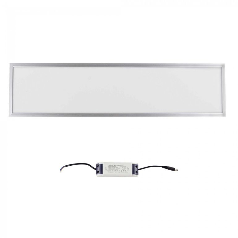 MAXCRAFT LED Panel Leuchte Slim 36W 1200 x 300 x 15 mm - Warmweiß