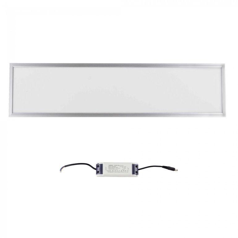 MAXCRAFT LED Plafoniera slim 36 watt dimensioni: 1200x300x15 mm freddo bianco – Bild 2