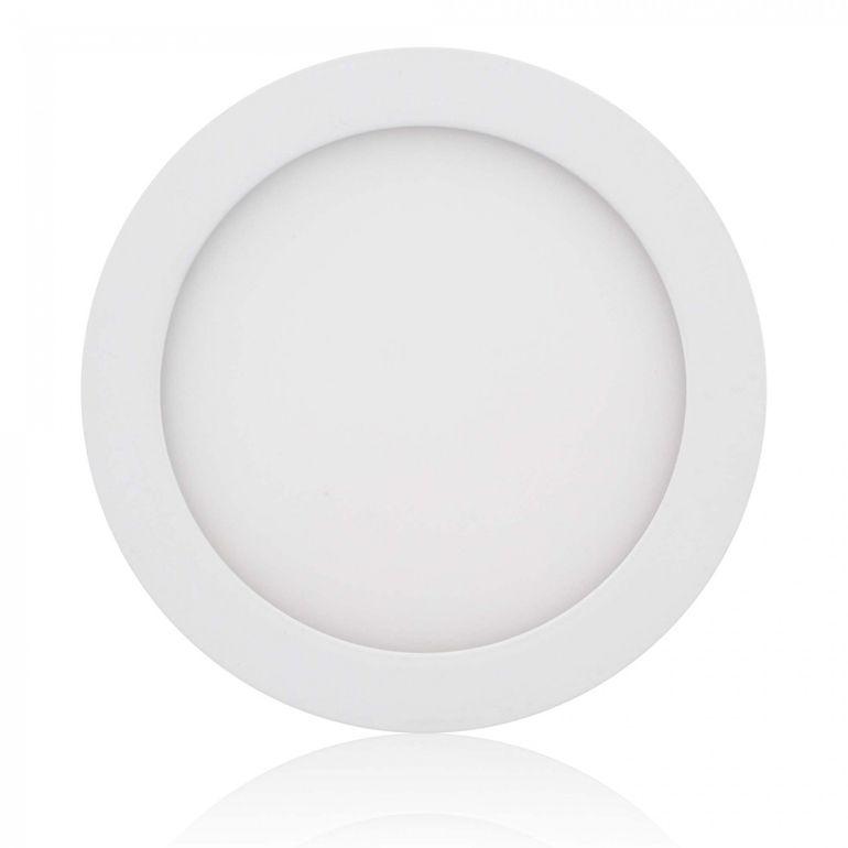 MAXCRAFT LED Panel Strahler Lampe Rund 12W Ø 170 mm - Kaltweiß