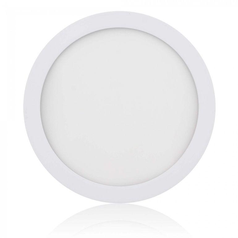 MAXCRAFT LED Panel Strahler Lampe Rund 18W Ø 220 mm - Warmweiß – Bild 1