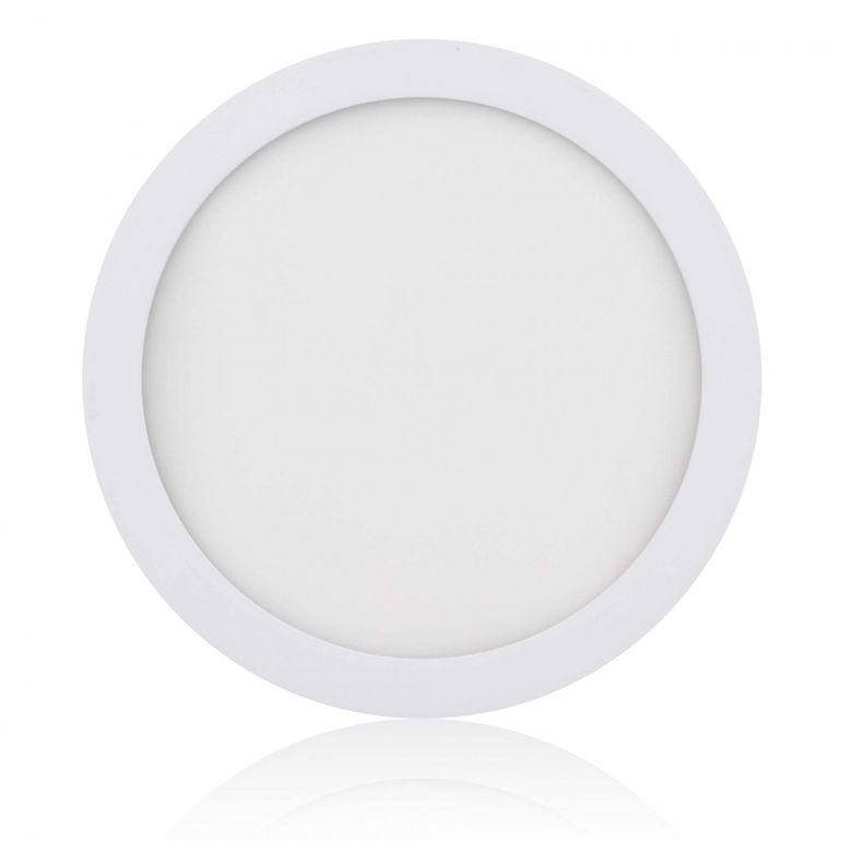 MAXCRAFT LED Panel Light Spotlight Round 18W Ø ca. 220 mm - Cool white – Bild 1
