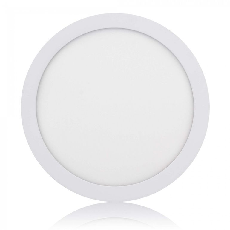 MAXCRAFT LED Panel Light Spotlight Round 24W Ø ca. 300 mm - Cool white – Bild 1