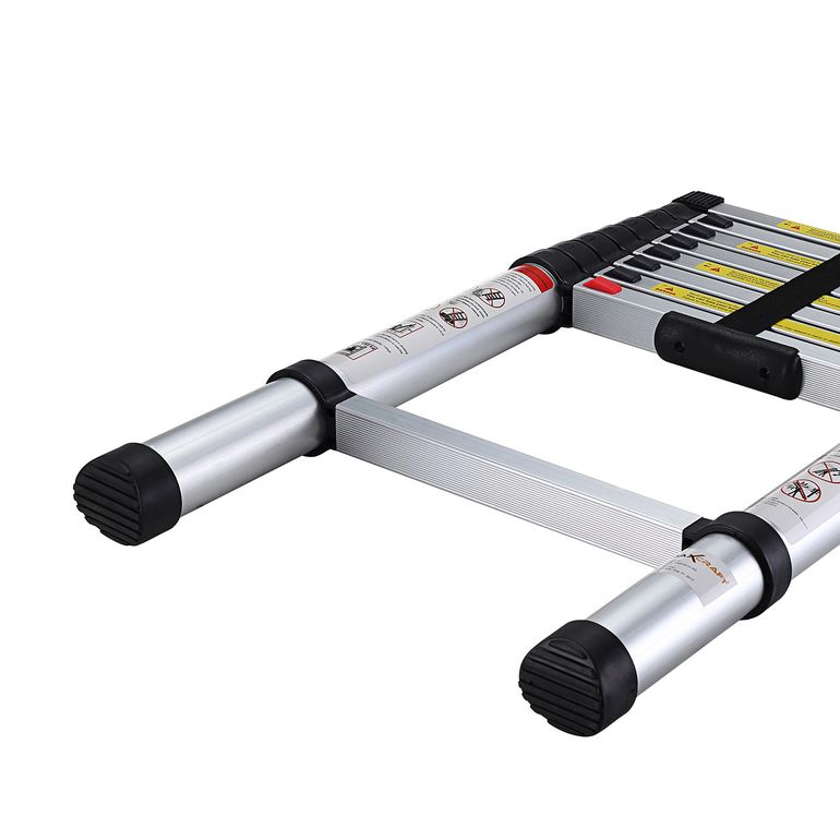 MAXCRAFT 2,60 m Telescopic Aluminium Soft Close Ladder – Bild 10