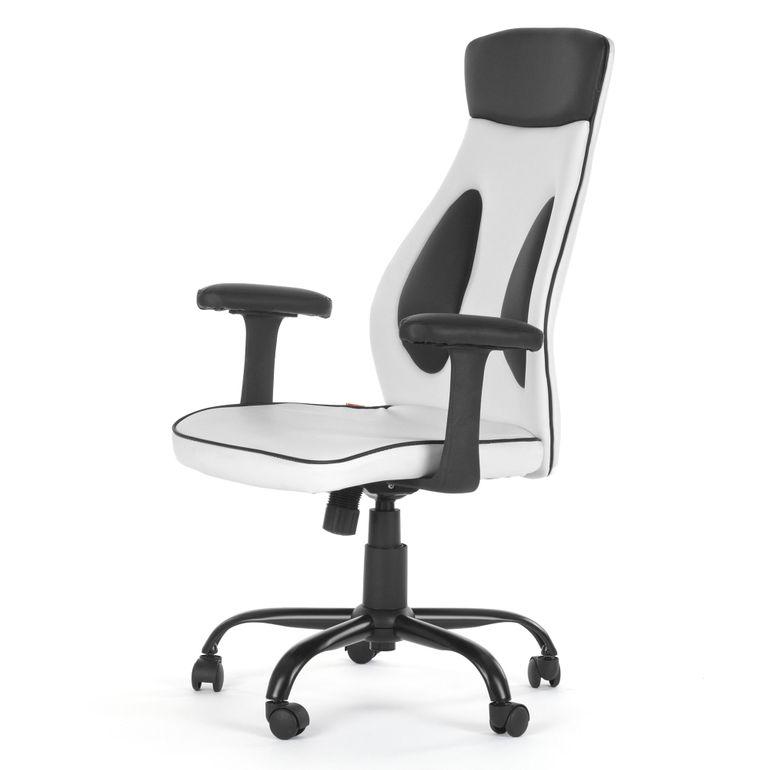 MY SIT Bürostuhl Chefsessel Samoa aus Kunstleder in Weiß – Bild 3