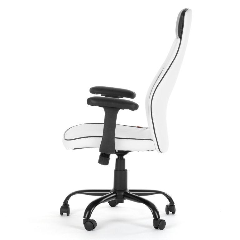 MY SIT Bürostuhl Chefsessel Samoa aus Kunstleder in Weiß – Bild 4