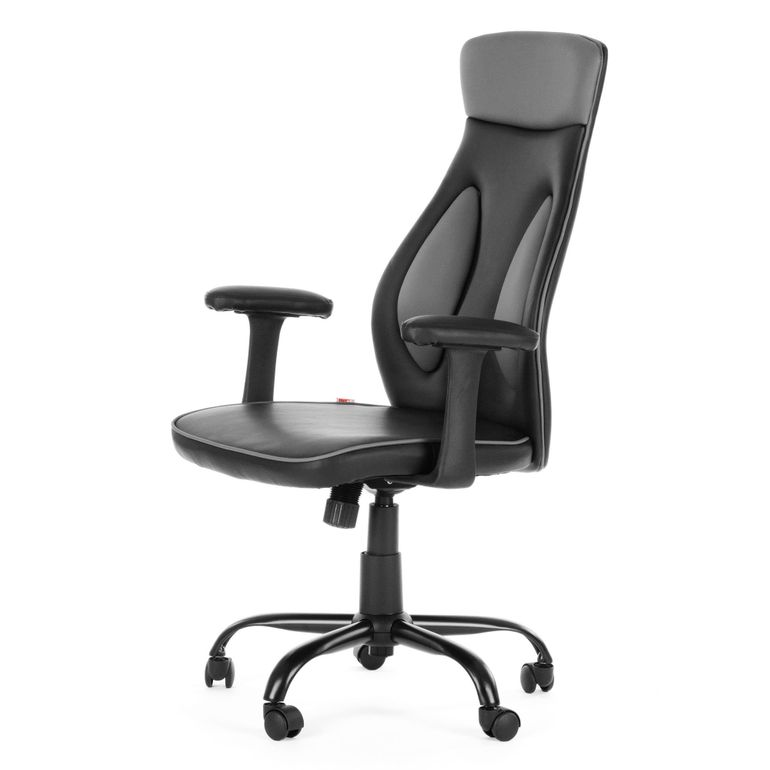 MY SIT Office Chair Samoa Faux Leather in Black – Bild 3