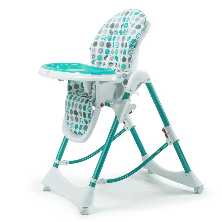 Baby Vivo Baby High Chair Infant Feeding Seat - Tippy in Turquoise – Bild 1