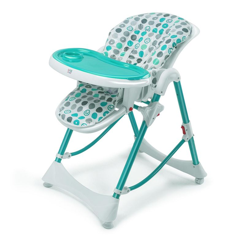 Baby Vivo Baby High Chair Infant Feeding Seat - Tippy in Turquoise – Bild 5