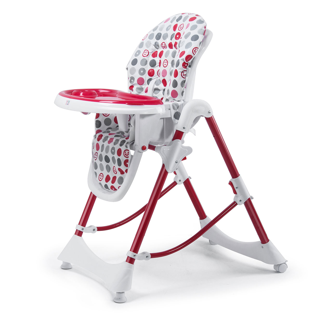 Delicieux Baby Vivo Baby High Chair Infant Feeding Seat   Tippy In Dark Red
