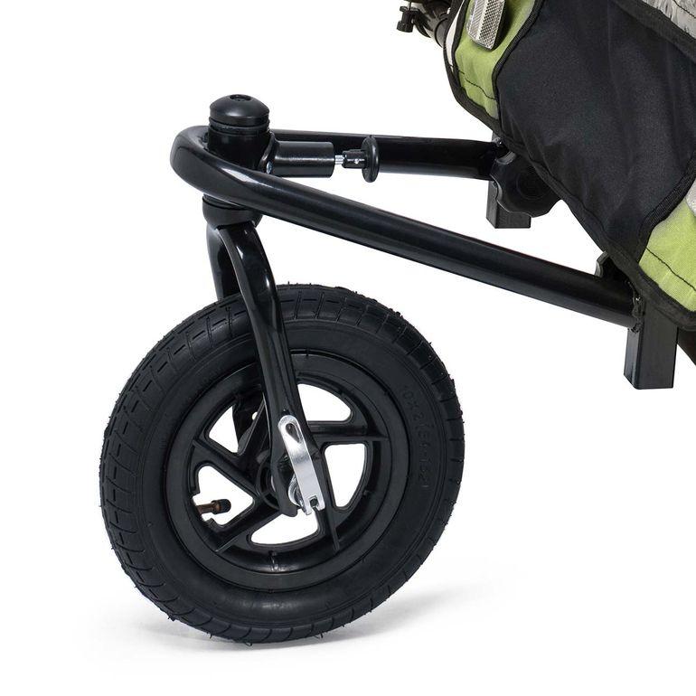SAMAX 360° girevole Rimorchio per Bicicletta Passeggino Bambini - in Verde - Black Frame – Bild 7