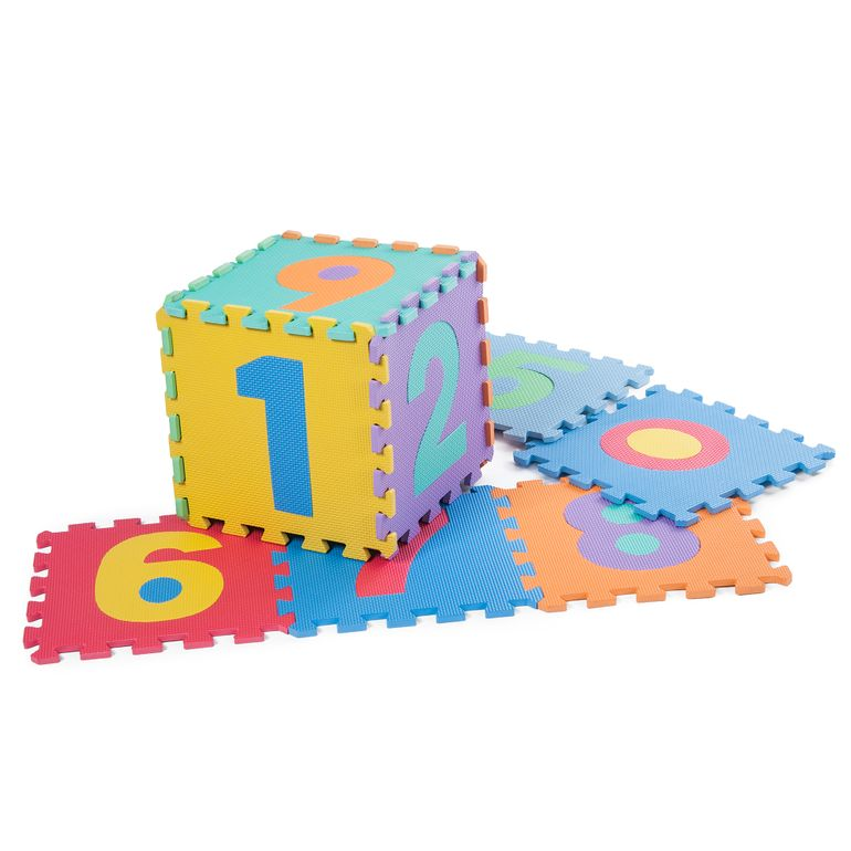 Baby Vivo Large 86 Pieces Puzzle Soft EVA Foam Play Mat with Numbers and Alphabet 190 x 190 cm – Bild 8