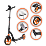 SAMAX Tretroller / Scooter - GO in Schwarz 001